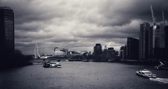 View from Vauxhall Bridge (Zara.B) Tags: london vauxhall bridge view snapseed iphone