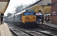 50015 Valiant at Bury (colin9007) Tags: eastlancashirerailway englishelectric class 50 coco 50015 d415 valiant type 4