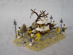 Sedan chair (fdsm0376) Tags: lego moc castle fantasy desert sedan chair medieval