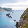 Frosty Waters (matthewsimmons3) Tags: sea cliff rocks uk dorset smooth water coast blue