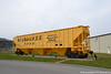 MILW 101340 Hopper (1) (Trucks, Buses, & Trains by granitefan713) Tags: milw milwaukeeroad hopper pullmanstandard ps2 restored display freshpaint commemorative pullmanstandardcarshops freightcar railcar butler pa