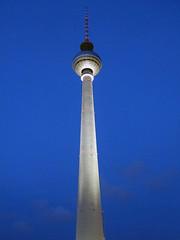 08 The TV Tower at night (Easymalc) Tags: alexanderplatz berlin