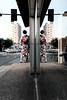 Seeing double, Higashi Chaya (Scott F Thompson) Tags: kanazawa higashichaya kimono reflection streetphotography japan