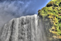 20170818-124036LCAnd1morePainterly (Luc Coekaerts from Tessenderlo) Tags: skógafoss waterfall waterval iceland isl skogar suðurland rangárþingeystra splitdef181206skogafoss public nobody cc0 creativecommons hdr hdrpainterly 20170818124036lcand1morepainterly coeluc vak201708iceland
