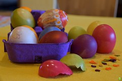 Easter fun :) (petrOlly) Tags: easter eastereggs ostern wielkanoc europe europa germany deutschland object objects food foodporn inthekitchen handmade easter2018