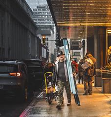 Warm section (Frédéric T. Leblanc) Tags: street streetphotography moment capture create light urba urban montréal mtl quebec canada cinema cinematic people canon 5d mk3 mark3 mkiii markiii vibe warm orange teen teenager amateur fub fun