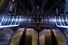 futuriste ou réel? (Rudy Pilarski) Tags: nikon tamron d7100 18270 abstract abstrait architecture architectural moderne modern city color couleur ciudad colour architectura ville paris france les halles escalator contreplongée bokeh