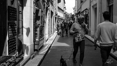 Dogman (Tiebell@) Tags: dogs people street antibes france