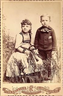 Bloomington Children In 1891