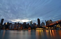 Roosevelt Island, 08.17.16 (gigi_nyc) Tags: queensborobridge bridge night nightshots nyc rooseveltisland newyorkcity summer nycskyline