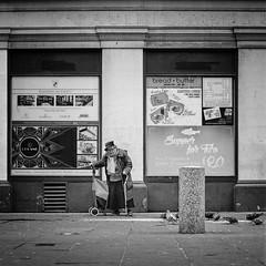 Supper (stephen cosh) Tags: blackandwhite glasgow hasselblad500cm hasselbladplanar80mm kodaktrix400 stephencosh streetphotography