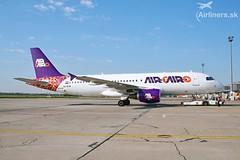 SU-BTM Air Cairo Airbus A320-214 (airliners.sk, o.z.) Tags: subtm air cairo airbus a320214 airlinerssk bts bratislava btslzib mrstefanik lzib lzibbts msc a320 airport marsa alam hema pushback new livery