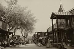 The Wild Wild West (dorameulman) Tags: dorameulman arizona ghosttown goldfield vintage haiku wildwest bordello monochrome blackandwhite sepia canon7dmark11 canon