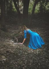 curiouser and curiouser (foteinizaglara) Tags: alice wonderland fairytale fairytales blue intothewoods woods foteinizaglara selfportrait