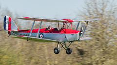 'Learning to Fly' - Pink Floyd (davepickettphotographer) Tags: shuttleworthcollection oldwarden uk bedfordshire dh dehavilland tigermoth flight aviation raf