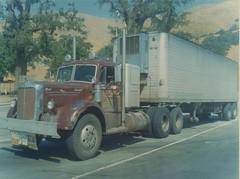 Mack L-model (PAcarhauler) Tags: mack semi tractor trailer grapevine