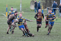 He goes free (Steve Barowik) Tags: yorkshire westyorkshire nikond500 barowik leeds ls26 stevebarowik sbofls26 rugbyleague rl nationalleague 70200mmf28gvrii sport competition try conversion penalty sinbin referee linesman ball pitch sticks posts team watercarrier dx cropframe kick pass offload dropkick forwardpass centre wing prop forward back fullback unlimitedphotos wonderfulworld quantumentanglement oultonraiders shawcrosssharks challengecupsecondround