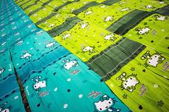 jemur kain (kuuan) Tags: indonesia voigtländerheliarf4515mm manualfocus mf voigtländer15mm aspherical f4515mm superwideheliar apsc sonynex5n solo surakarta street java hallokitty cloths pattern repeatingpattern bekonang jemurkain