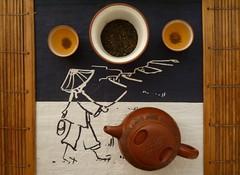茶 (Ben Zabulis) Tags: 茶 hongkong tea teatime asia fareast teapot 茶壺 香港 新界 5photosaday teaset cha teacup teatowel worldmarket