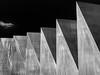 Chain of peaks (Ulrich Neitzel) Tags: abstract art bw kunst lines linien mzuiko1250mm monochrome olympusem5 peak schwarzweiss geometric