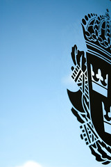 Polislogga (Thessman) Tags: swedishpolicestation polislogga genomskinligskylt genomskinlig sommarpolis polisen glassdoor swedishpolicelogo polis polisstation polisenisommar polisskylt swedishcrimeprevention