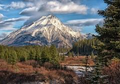 Mt. Nestor (Philip Kuntz) Tags: mtnestor smutscreek autumn fall fallfoliage snow peaks peterlougheedprovincialpark alberta canada