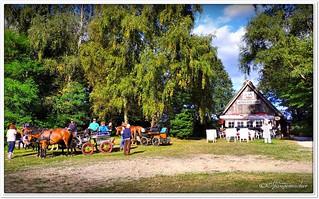 Park-und Kutschenplatz Niederhaverbeck
