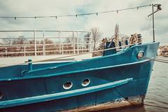 Boats... (hobbit68) Tags: boot schiff 🚢 himmel sky clouds wolken blau blue wasser water river fluss