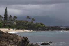 Waimea (fantommst) Tags: lisaridings fantommst pupukea beach oahu hawaii hi usa island northshore ocean headlands rocky mountains storm stormy rain showers surf seascape landscape pacific waimea honolulu coast