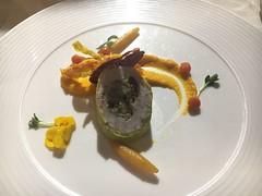 ballotine de lapin et légumes racines (Creusaz) Tags: ballotine lapin légumes racines food nourriture lerestaurantdulac 1342 lepont suisse