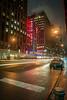 Radio City Hall (jameshowardphotography) Tags: radio new york city light trail car night nikon