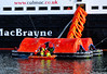 Scotland Greenock the evacuation drill of the car ferry Clansman people getting into a rescue powerboat 29 March 2018 by Anne MacKay (Anne MacKay images of interest & wonder) Tags: scotland greenock ship repair dock evacuation drill caledonian macbrayne calmac car ferry clansman xs1 29 march 2018 picture by anne mackay