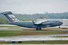 SZP_0024_pslr5 (Lakeside Annie) Tags: 04072018 2018 20180407 55300mm 55300mmf4556 ang airforce airnationalguard april7 c17 cdia clt charlotte charlotteairnationalguard charlottedouglasinternationalairport charlottenc d7100 leannefzaras nikkor55300mmf4556 nikkor55300mm nikon nikond7100 northcarolina northcarolinaairnationalguard sarazphotography saturday airport plane planespotting