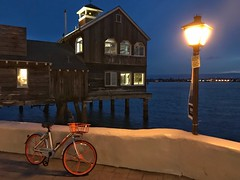 Night Scene (Eduardo Ruiz M.) Tags: shore seaport california sandiego light night