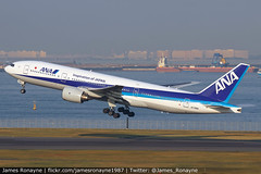 JA706A   Boeing 777-281   All Nippon Airways (james.ronayne) Tags: ja706a boeing 777281 all nippon airways b772 ana nh aeroplane airplane plane aircraft jet aviation flight flying tokyo haneda hnd rjtt canon 80d 100400mm raw