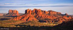Sedona Valley Sunset (CarlosDominguez812) Tags: sunset sedona arizona rocks pano landscape landscapephotography canon canon6d daforce812 beautiful geology formation