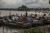 El puente de U-Bein (Nebelkuss) Tags: myanmar mandalay asia birmania burma ubein puente bridge barca boat fujixt1 fujinonxf1855