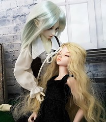 Fairy tale (claudine6677) Tags: bjd msd ball jointed doll asian dolls mnf minifee fairyland karsh elf chloe elfen elben sammlerpuppe puppe