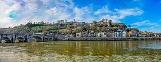 Citadelle de Namur Belgique.