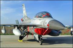 F-16D Fighting Falcon (Pavel Vanka) Tags: hellenicairforce ciaf czechinternationalairfest lktb brnoturany brno czech czechrepublic airplane plane aircraft airshow spotting spot spotter viper jet fighter fightingfalcon f16 f16d