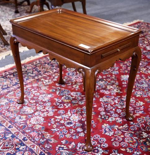 Henkel Harris Queen Ann Tea Table ($392.00)