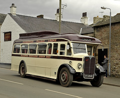 FV4548 Standerwicks (martin 65) Tags: 1418 routemaster westyorkshire standerwicks aec daimler leeds yorkshire road transport public preserved preservation kirkby stephen classic commercial vehicle vintage bus buses cumbria