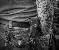 tatoo (joboss83) Tags: tatoo tatouage rue vintage fuji xt1 bw