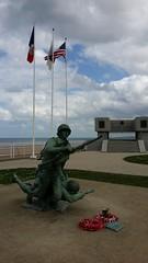 20180415_153456 (jlfaurie) Tags: normandie omahabeach monument monumento dday jlfr mpmdf mechas débrquement plage playa beach memorial mémoire honneur 6juin1944