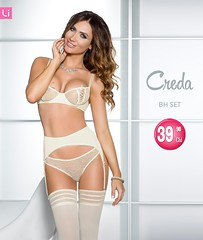 Creda Cream Set with Garter Belt | Lintimo.ch (www.lintimo.ch Dessous) Tags: lintimodessous lingerie lintimolingerie lintimo lingeriemodel lintimoch sexy sexydessous sexylingerie wwwlintimoch womanfashion woman womanmodel model mode