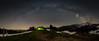 Unter dem Himmelszelt (martinsilvestri90) Tags: milchstrasse milkyway milky way sterne stars nightsky night nacht nachtfotografie photography zelt tent beleuchtet staunen toggenburg churfirsten säntis alpstein tanzboden stgallen schweiz suisse switzerland nikon d5300 tokina vixen polarie panorama bogen milchstrassenbogen