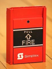 Simplex FM950-E Fire Alarm Pull Station (1sdu) Tags: simplex electro vox fire alarm pull station