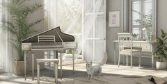 when you play, never mind who listens to you (Engelsstaub Resident) Tags: fameshed jian fancydecor acorn piano