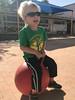20180413_Shannon_phone_0033.jpg (Ryan and Shannon Gutenkunst) Tags: bouncing stmarkspreschoolandkindergarten smile ball sunglasses codygutenkunst