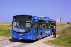 Cley-next-the Sea (Chris Baines) Tags: sanders volvo b7rle wright eclipse hf54 hhw cleynextthesea norfolk wildlife trust visitor centre